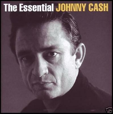 JOHNNY CASH (2 CD) THE ESSENTIAL -60's / 70's GREATEST HITS BEST -NEW SEALED
