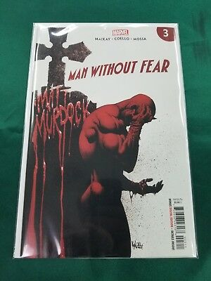Man Without Fear #1 - Kyle Hotz Main Cover - Marvel Comics/2019