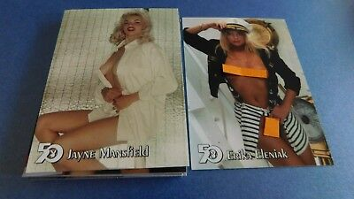 Non Sport Trading Cards 15 Different Playboy 50Th Anniversary(4)