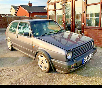 mk2 gti 16v with a stage 4 vr6 turbo conversion 400bhp