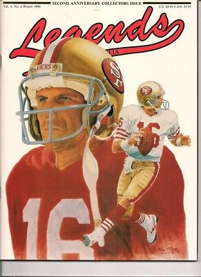 Legends Magazine Vol 3 No 4 Winter 1990 (Joe Montana Cover)