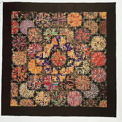Fireworks Quilt Pattern Paper Foundation Pieced Pineapple Block Beauty