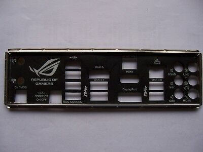 ASUS I/O IO SHIELD backplate for P5N-T Deluxe - Intel LGA775 Motherboard