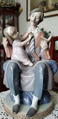 Father's day Porcelain  figure by LLADRO #5584 -Retired