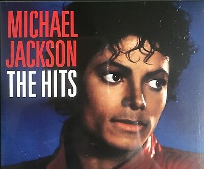 RARE Michael Jackson The Hits CD **Never Released In This Packaging**