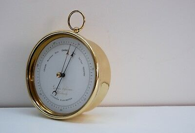 Victorian Aneroid Barometer By Dubois & Casse For Lennie Opticians Edinburgh