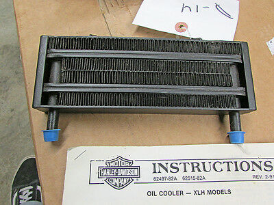 Lockhart Harley Davidson Oil Cooler Shovel Head -D14