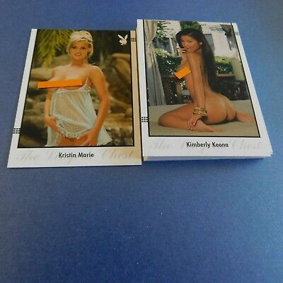 Non Sport Trading Cards 15 Different Playboy Lingerie Chest 2009(2)