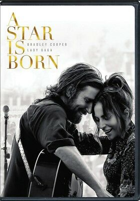 A Star Is Born (DVD,2018) Preorder Releases Ships 2/19/19