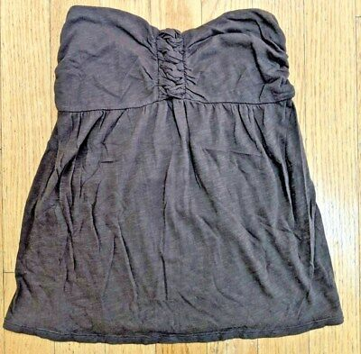 becd80cf98619 Womens Old Navy Brown Empire Waist Halter Tank Top Shirt