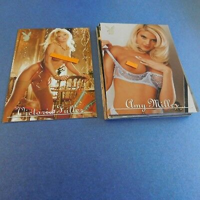 Non Sport Trading Cards 15 Different Playboy Lingerie 2000 (C)