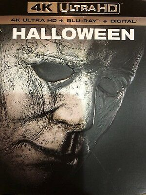 Halloween (4K Ultra Hd+Blu-Ray+Digital)W/slipcover New Factory Sealed