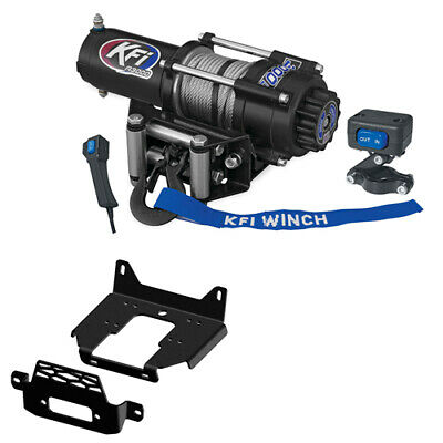 101350 KFI 3000 lb Winch Combo for Polaris General and RZR 900//1000//Turbo