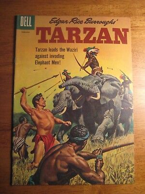TARZAN #122 (Dell,1961) (VF-) Rare Higher Grade!