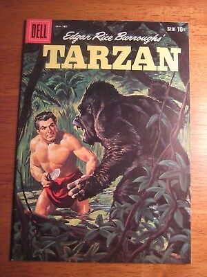 TARZAN #116 (Dell,1960) (VF/VF-) Rare Higher Grade!