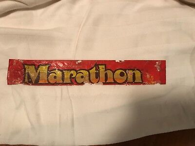 Original Vintage Marathon Candy bar wrapper