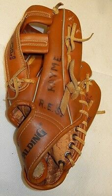 "SPALDIN 42-665 DWIGHT GOODEN, Vintage 11"" Right Hand Throw Youth Baseball Glove"