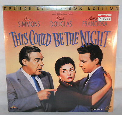 Laserdisc (2)  * This Could Be The Night * Jean Simmons Paul Douglas Letter-Box