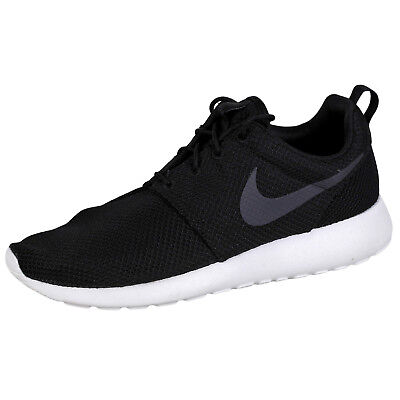 0d41d211e435d NEW NIKE ROSHE One Mens Running Shoes Black Sail Anthracite Size US ...