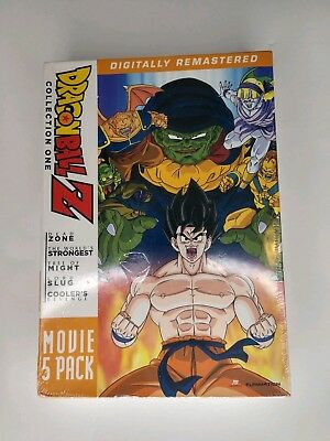 Dragon Ball Z: Movie Pack Collection One (Movies 1-5) DVD