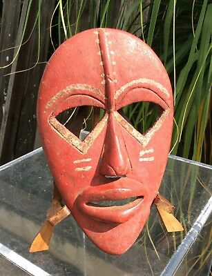 Antique Carved Wood Mask ~African Dan Mask~ First Time Offered ~Old Collection