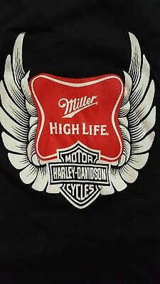 Miller High Life Harley Davidson Women's Tank Top Small