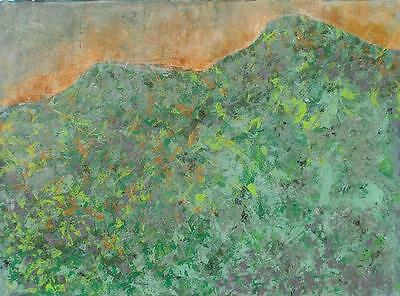 Expressionist Colorist Action Painting Samuel Kamen (1911-95) Listed NY Artist!