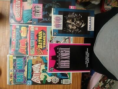 Batman vintage comic book lot