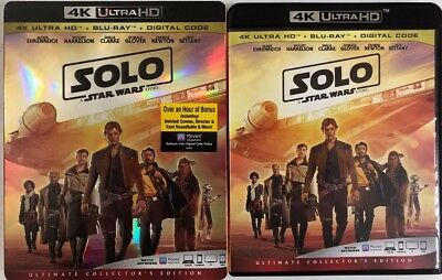 Solo:a Star Wars Story 4K Ultra Hd(4K Ultra Hd+Blu-Ray+Digital)No Slipcover New