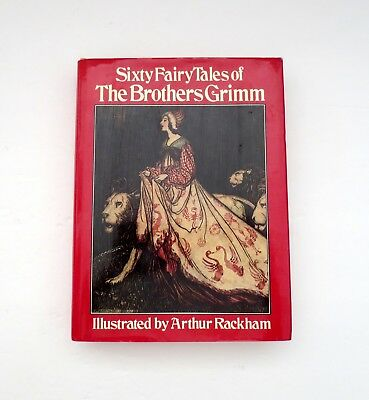 Sixty Fairy Tales Of The Brothers Grimm Hardcover With Dust Jacket