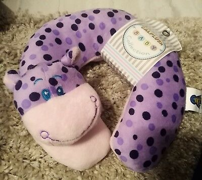 Calplush Baby Collection Plush Giraffe Neck Support Pillow