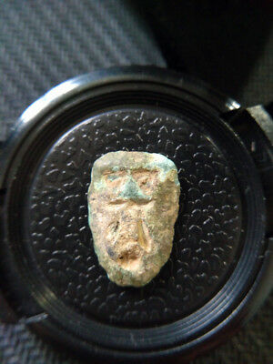 B.C 4 Century Fighting State Period Chu State Rare Coin,Ghost Face coin -3