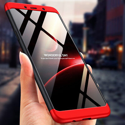 Shockproof 360° Full Cover 3 In 1 Back Case For Samsung Galaxy A9 A8 A7 A6 2018