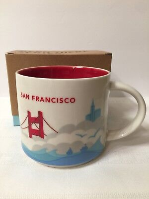 """Starbucks Coffee Special Edition """"You Are Here"""" Collectable Mug SAN FRANCISCO"""