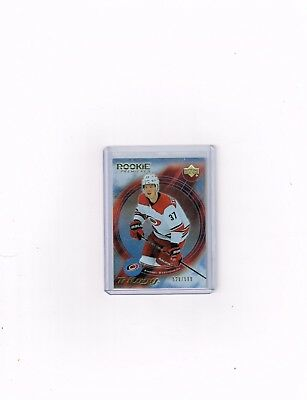 2018-19 Ud Trilogy Hockey Rookie Premieres Retro Card Of Andrei Svechnikov