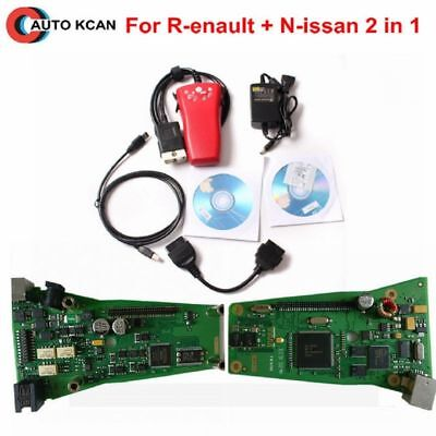 Car Diagnostic Tool Scanner For Renault CAN Clip V172 Consult 3 III Nissan OBD##