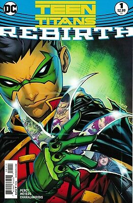 'Teen Titans: Rebirth' Issue #1 - Special Edition Reprint - Mint Condition