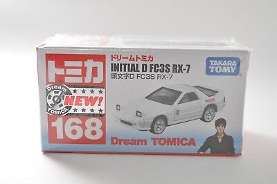 Takara Tomy Dream Tomica No.168 Initial D FC3S RX-7 Diecast Toy Car from Japan