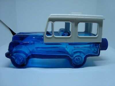 Vintage AVON COLLECTIBLE Perfume/cologne Bottle. BLUE CAR!