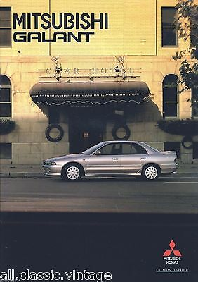 MITSUBISHI - Galant prospekt/brochure/folder Dutch 05/1995