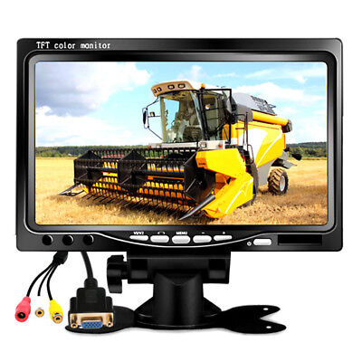 Car 7 Inch 1024X600 Ultra-Thin Lcd Hd Display Vga Interface Audio Video Dis X4V2