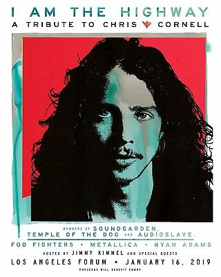 I Am The Highway - A Tribute to Chris Cornell @ L.A. Forum 1/16/19 2 seats