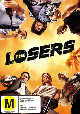 Losers The (DVD, 2010) // Ex-Rental // No Cover // Disc & Case only