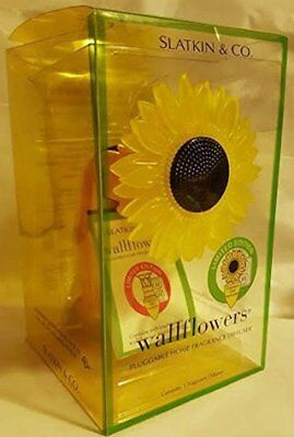 Near Mint** wallflowers SLATKIN* + Bath Body Works Sunflower Diffuser / C*UL-US