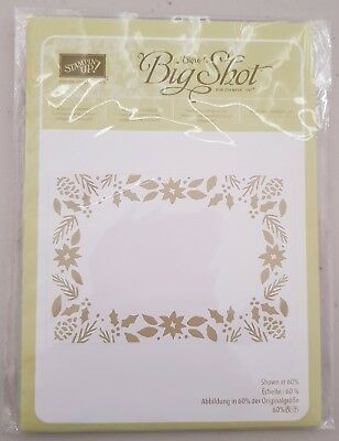 Stampin' Up! 'BOUGHS AND BERRIES' Embossing Folder - Retired