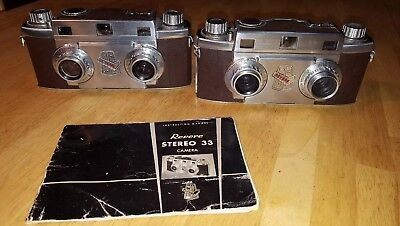 A Pair of Revere Stereo 33 Cameras