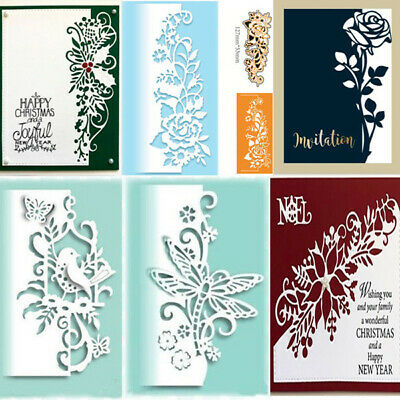 Lace Edge Border Metal Cutting Dies Corner Scrapbook Embossing Frame Paper Craft