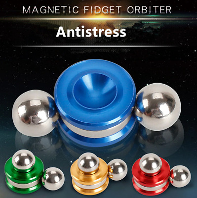Fidget Spinner Magnetic Orbiter Ball Anti Stress Relief Toy Reliever Adult
