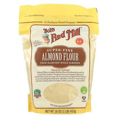 Bob's Red Mill Flour - Almond - Blanched - Case of 4 - 16 oz