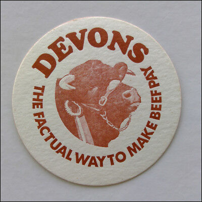Devons The Factual Way To Make Beef Pay Coaster (B349)